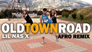 OLD TOWN ROAD | AFRO REMIX | LIL NAS X - Zumba® Fitness Choreo