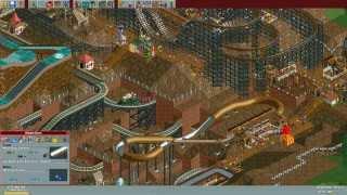 RollerCoaster Tycoon Deluxe - Millenium Mines [HD] (Hasbro Interactive) (1999/2002)