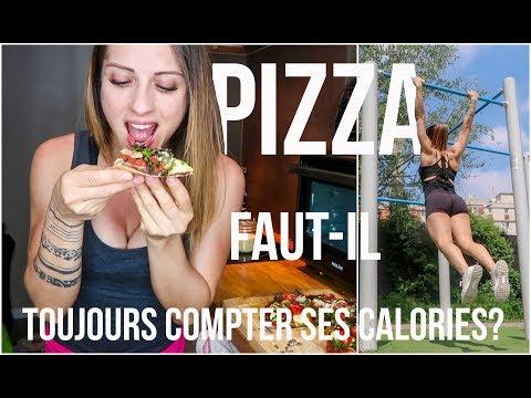 Faut-il COMPTER ses CALORIES? ** Ma recette de PIZZA ** Training outdoor