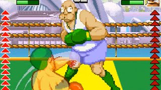 Punch King - Arcade Boxing (GBA) Playthrough - NintendoComplete