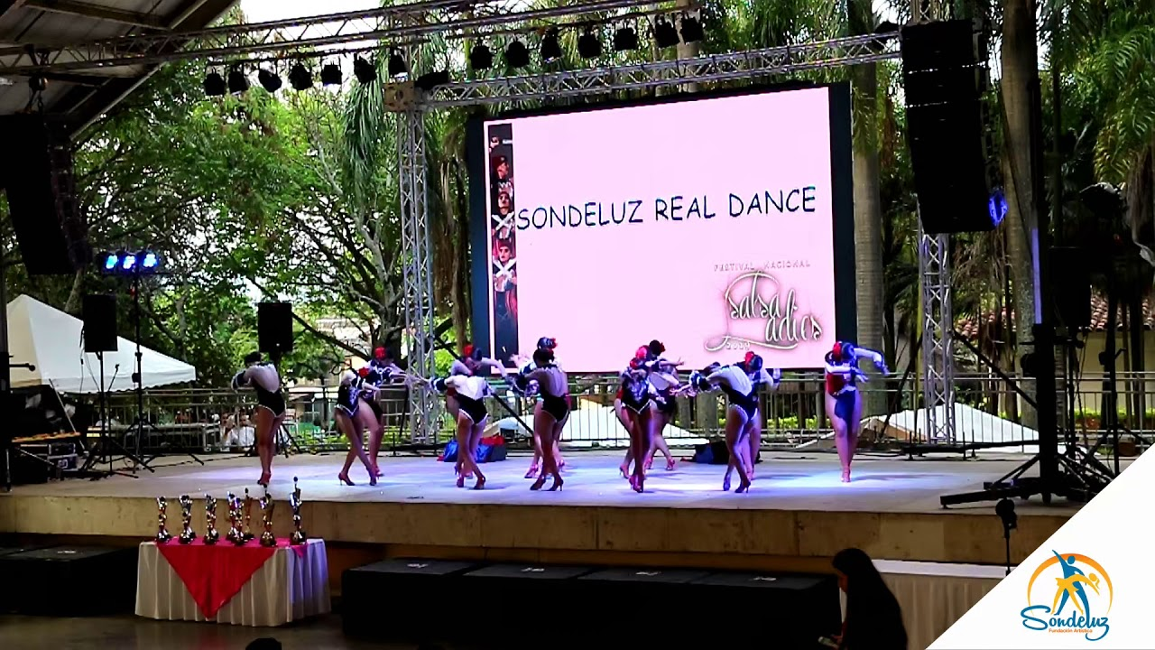 Sondeluz Real Dance, Modalidad Grupos, Categoria Amateur -  Salsa Ladies 2019 ?