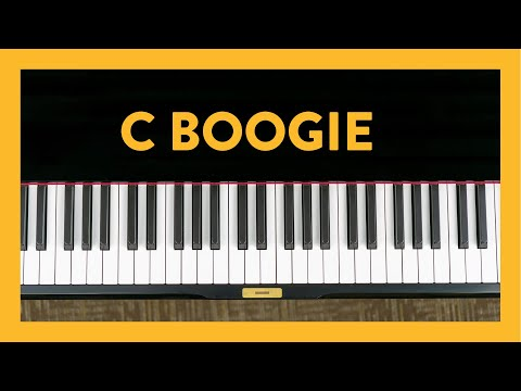 C Boogie - Piano Lesson 6- Hoffman Academy