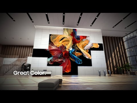 Samsung The Wall: Next-Generation Display Technology