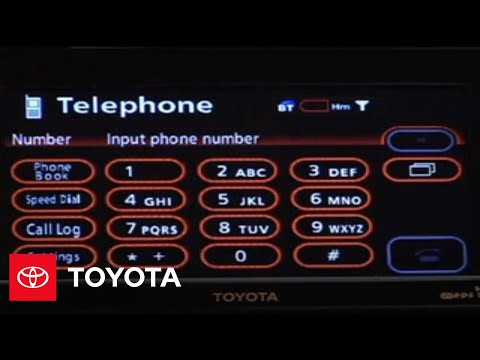2007-2009 Tundra How-To: Bluetooth® (With Navigation System) - Making a Phone Call | Toyota