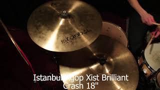 """review - Istanbul Agop Xist Brilliant - Crash 18"""""""