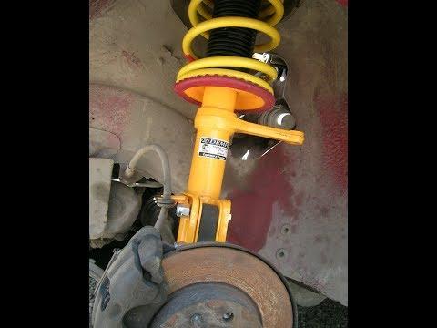 Как заменить передние пружины без нарушения