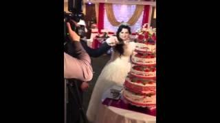 Свадебный торт Хусейна и шамсият