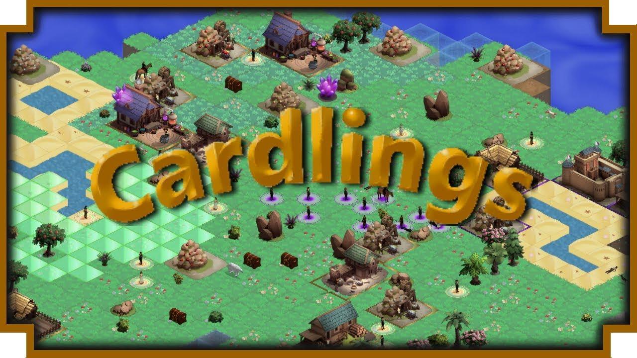 Cardlings – (Fantasy Turn-Based Strategy Game)
