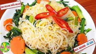 ✅ Muốn Đổi Bữa Hãy Làm Ngay Món BÚN KHO XÀO TRỨNG Cực Ngon Mà Nhanh Này   Hồn Việt Food