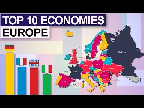Top 10 Economies Of Europe 2019 ( By Nominal GDP )