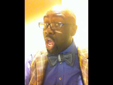 """Marvin Williams sings """"This May be My Last Time."""""""