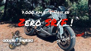 7000 km et 8 mois en Zero SR/F, je vous dis tout !
