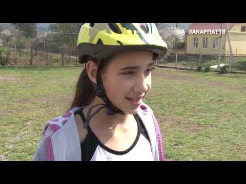 Велозаїзд для дітей із квестом та вікториною відбувся сьогодні у селі Кам'яниця Ужгородського району