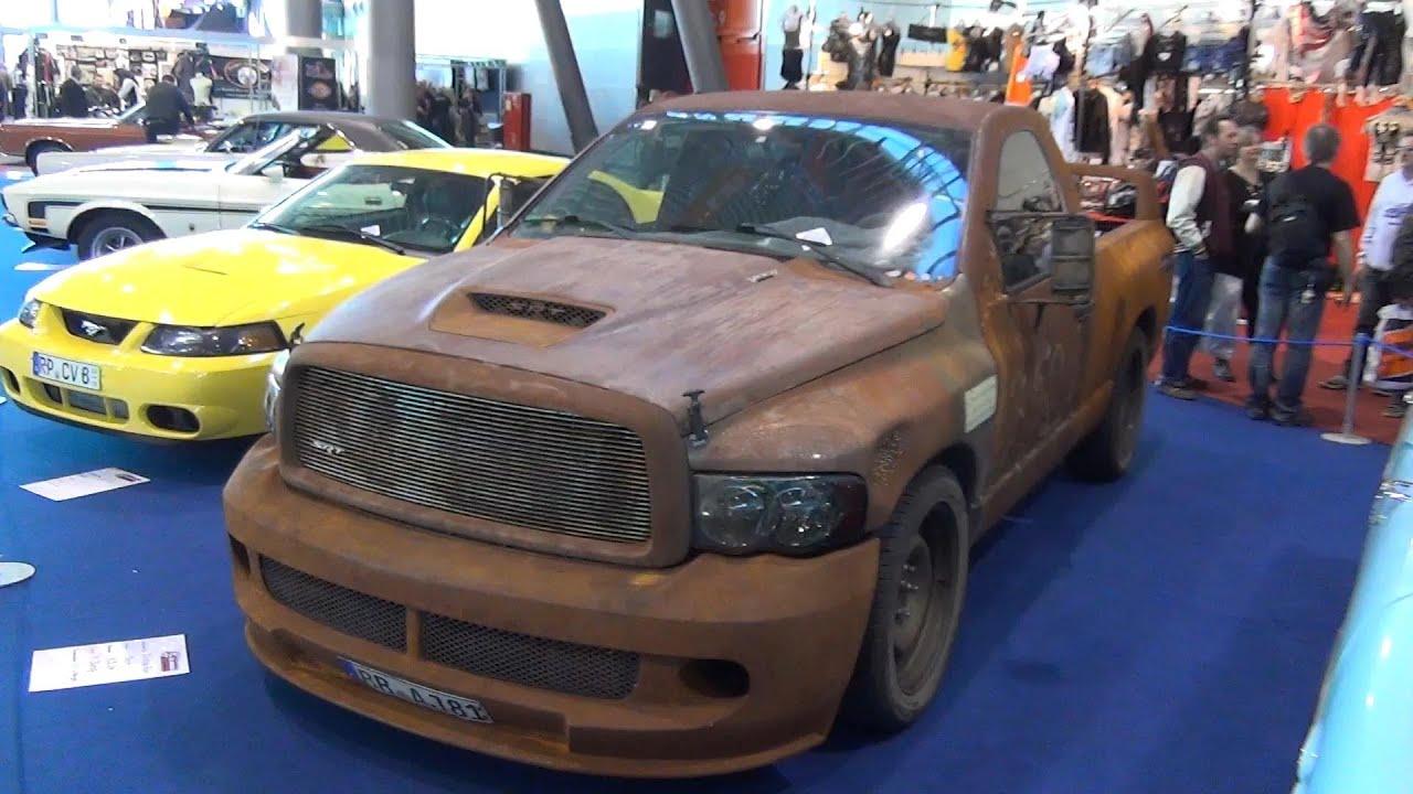 "Dodge Viper Used >> Dodge Ram SRT-10 Viper powered ""RAT-RAM"" rusty used look ..."