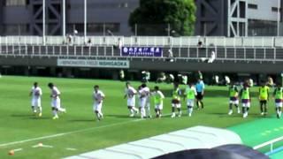 中大vs順大@味フィ西 順大:原田開ゴール(1-1) JR東日本カップ'12後期 9/15