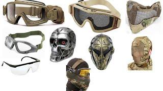 Mascaras para Airsoft - Teladas Full Face