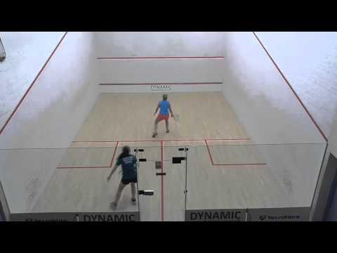 EATSC 2015 champs Ladies Racketball Final Karan Cox v Katie Cox