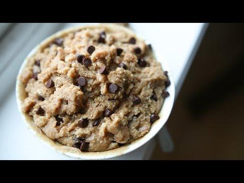 Edible Cookie Dough Recipe (HIGH PROTEIN) | Healthy Snack Ideas