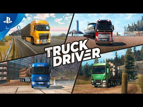 Truck Driver - Launch Trailer   PS4
