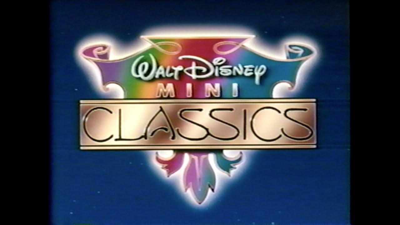 walt disney mini classics logo vhs 1987 youtube rh youtube com Disney VHS Walt Disney Mini Classics Peter and the Wolf