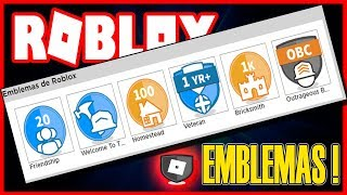 For what ROBLOX Emblems serve and how to get them for your account !!