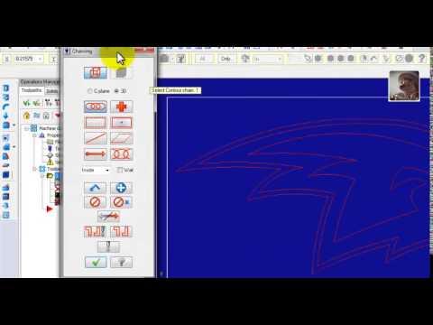Insertar dibujo de AutoCAD a MasterCAM X4  YouTube