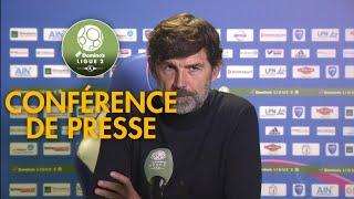 Conférence de presse FBBP 01 - RC Lens (0-6) - 2017/2018