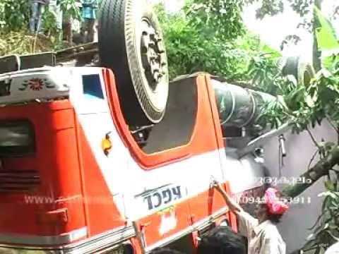 Series of accidents on kunnicode,avaneeshwaram