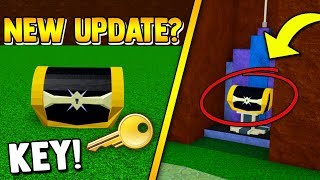 THE SECRET KEY!! 🔑 & How to UPDATE!!   Build a boat for Treasure ROBLOX