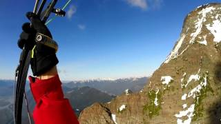 Paragliding Bridal Falls