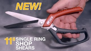 Wiss® Scissors - Featuring The NEW 11in. Single Ring Shop Shears