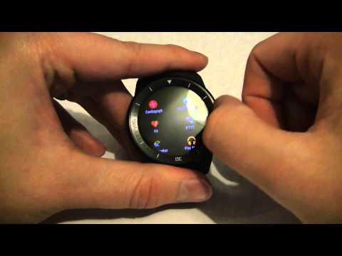 Mini Launcher - The First App you need to get for Android Wear - LG G Watch R