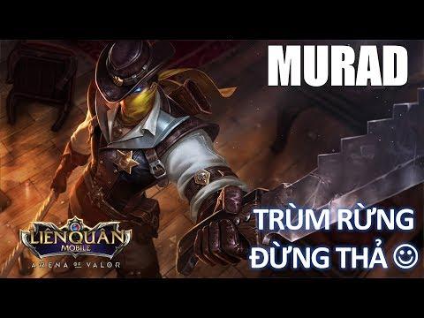 Murad trùm rừng đừng thả trong đấu rank cao thủ phiên bản mới Lễ hội mùa đông liên quân
