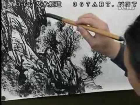 Zeng Gang 曾刚山水画 DVD Course of Chinese Landscape Painting (Disk 1-7)