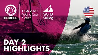 Day 2 Highlights | Hempel World Cup Series Miami 2020