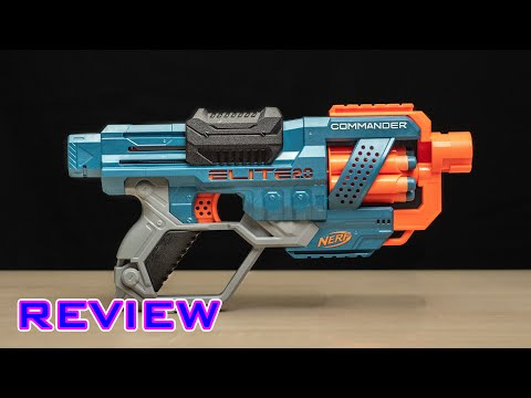 [REVIEW] Nerf Elite 2.0 Commander RD-6 | The New Spectre