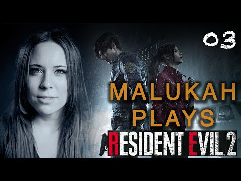 Malukah Plays Resident Evil 2 - Ep. 3