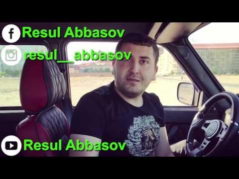 Taksi Sürücüsü İş Başında - Resul Abbasov vine 2017