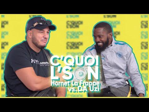Youtube: C'Quoi L'Son: DA Uzi VS Hornet sur du Gazo, Lacrim, Vald, Landy, Booba, Mister You, MIG & Niaks
