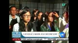 NewsLife: Catholics mark Ash Wednesday || Feb. 18, 2015