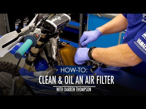 How-To: Clean and Oil an Air Filter