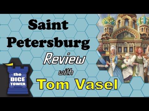 Saint Petersburg Review - with Tom Vasel