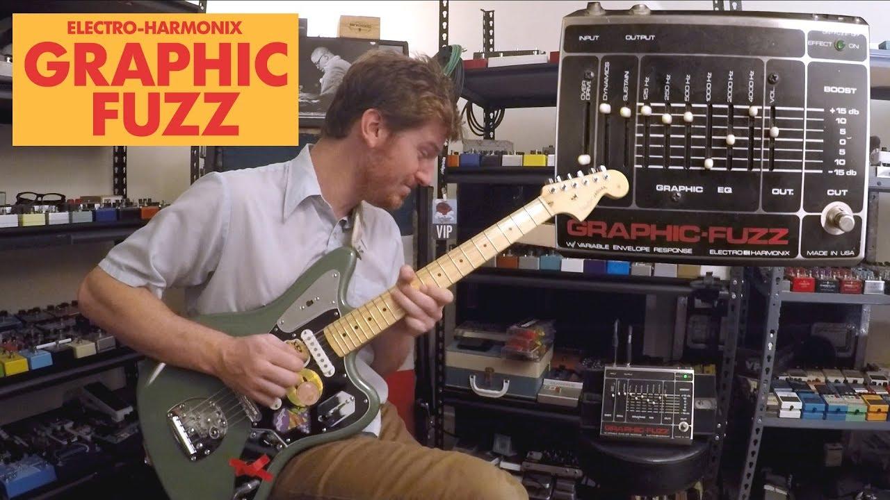 New Electro-Harmonix EHX Graphic Fuzz EQ Distortion Sustainer Guitar Pedal