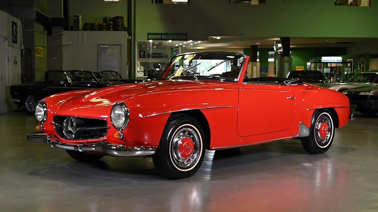 1963 Mercedes-Benz 190SL Convertible - 2019 Shannons Sydney Late Autumn Classic Auction