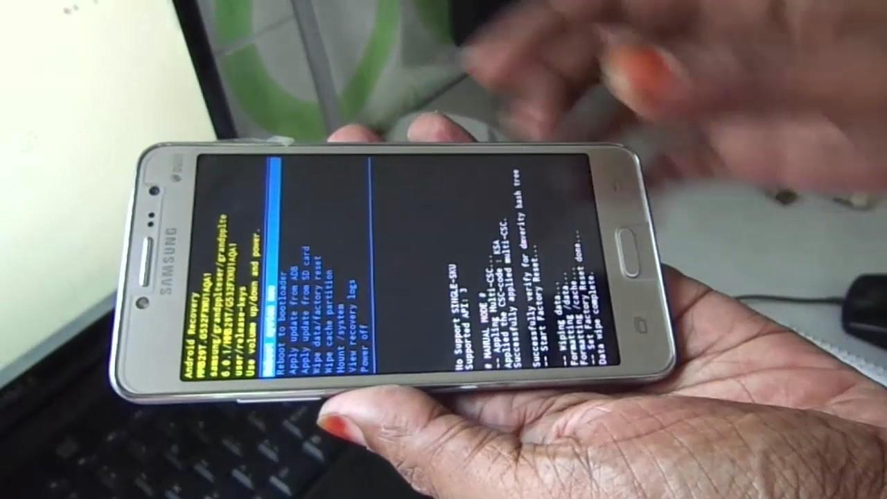 Samsung Galaxy Grand Prime plus Pattern Unlock