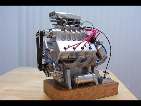 8 of the World´s Smallest Running Engines