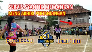 LIVE PAGI : MATCH AKHIR TEAM PUTRI PANJI VS PILIP 11 (A)    Turnamen Sampoerna Cup Lubuk Karet...