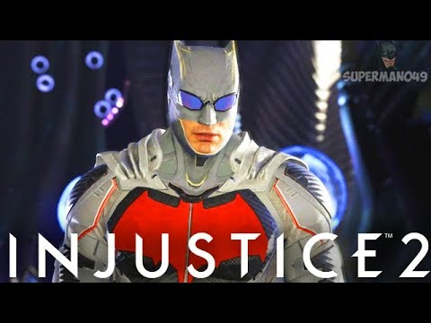 "This JUSTICE LEAGUE Batman Is Amazing! - Injustice 2 ""Batman"" Justice League Gear Gameplay"