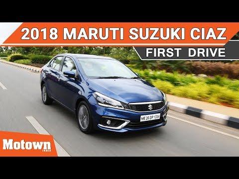 2018 Maruti Suzuki Ciaz First Drive