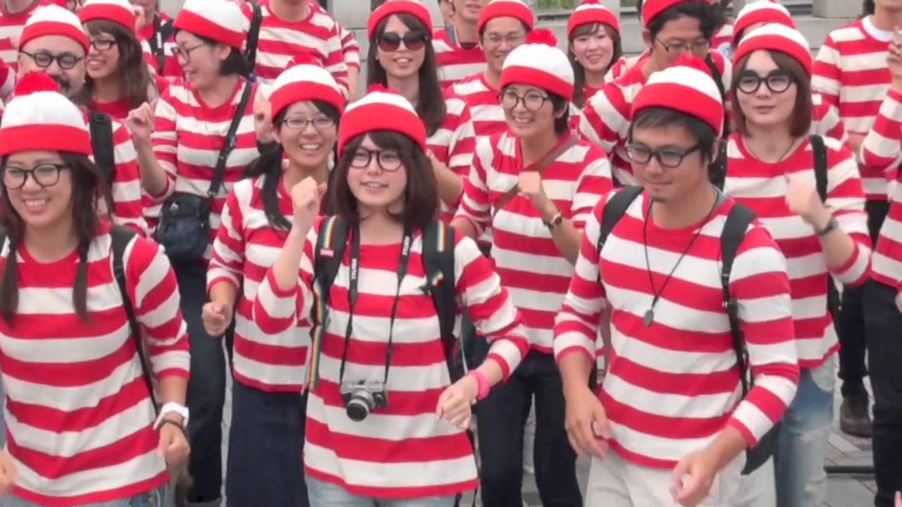 """2014.9.27 実写版 ウォーリーをさがせ!@Tokyo & Yokohama / Live action of """"Where's Wally?"""" in Tokyo"""